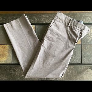 Bonobos Slim Fit Pants Grey Flat Slacks 31 32 33